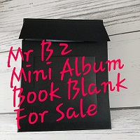 Mr Benjamin 2 Book Blank