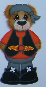 Harley Biker Bear Boy