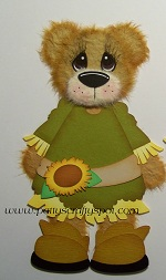 Fall Friends Girl Tear Bear