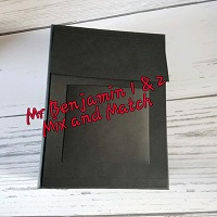 Mr Benjamin 1 and 2  Mix and Match Book Blank
