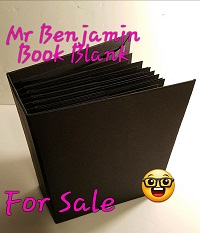 Mr Benjamin Book Blank