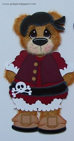 Pirate Pals Girl Tear Bear